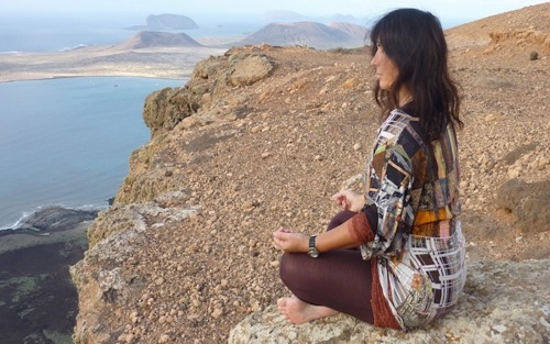 active meditation lanzarote